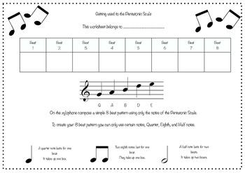 Composing using the Pentatonic Scale