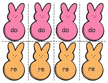 Composing with Peeps - Do, Re, Mi