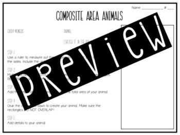 Composite Area Animal Project