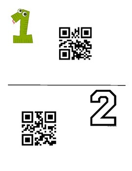 Composite Area & Compund Area Task Card QR Scan Answers