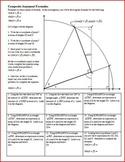 Composite Argument Formulae: Trigonometry: Deriving sin(a+b), cos(a+b).. w/ key