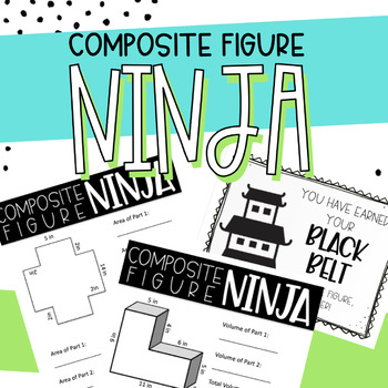 Composite Figure Ninja - Differentiated for Volume and Area