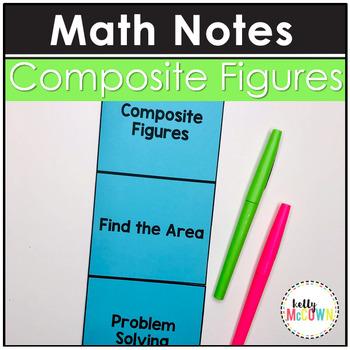 Composite Figures Area Notes
