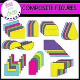 Composite / Irregular Figures Clip Art