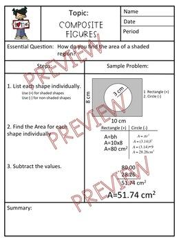 Composite Figures Cornell Notes