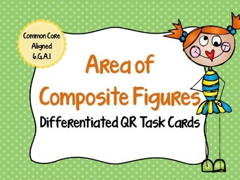 Composite Figures Differentiated Task Cards