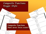 Composite Functions Activity