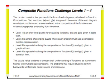 Composite Functions Challenges