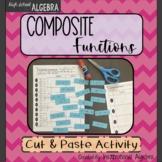 Composite Functions Cut & Paste Activity