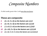 Composite Number Poster