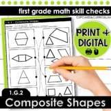 Composite Shapes   First Grade Math 1.G.2