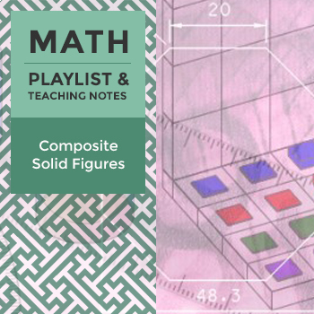 Composite Solid Figures - Playlist and Teaching Notes