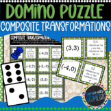 Composite Transformations Domino Puzzle; Geometry, Reflections, Dilations