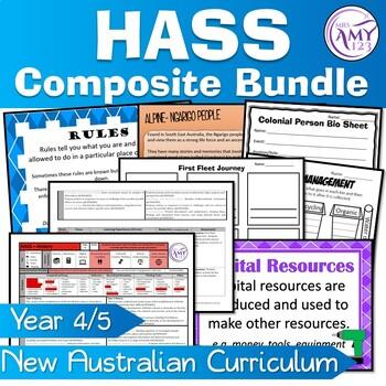 Composite Year 4/5 HASS Units- Australian Curriculum