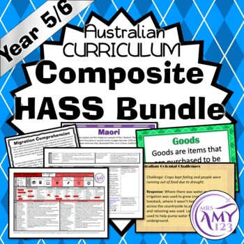 Australian Curriculum Composite Year 5/6 HASS Units