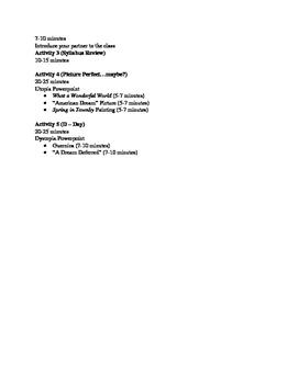 Composition 11 Course Lesson Plans (Week 1)