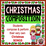 Christmas Music Activities : Composition Activities for Christmas Music Lessons