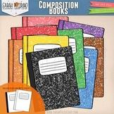 Composition Books Clip Art