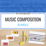 Composition Bundle: guided composition activities for elementary music