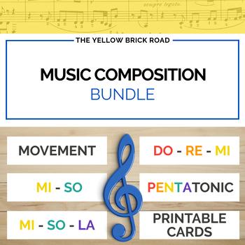 Composition Bundle: guided composition activities for elem