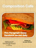 Composition Cafe: Five Paragraph Essay Sandwich served daily!
