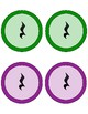 Composition Cards (Quarter Note, Eighth Note Pair, Quarter Rest: Chroma-notes)