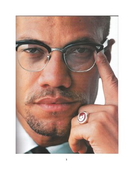Composition Curriculum based on The Autobiography of Malcolm X - Ch 10 & Epilog