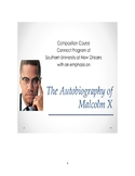 Composition Curriculum for The Autobiography of Malcolm X