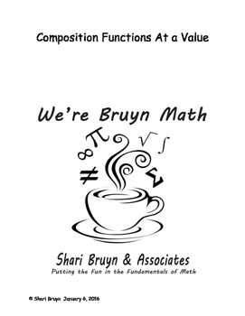Composition Functions - At a Value