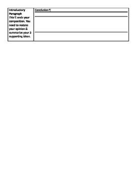 Composition Helper: Narrative/Informative/Opinion