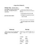 Composition Homework