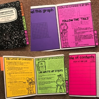 Composition Lab Notebook Set-up