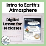 Composition & Layers of the Atmosphere for Distance Learning
