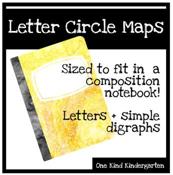 Composition Notebook Circle Maps