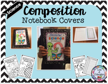 Composition Notebook Covers BUNDLE
