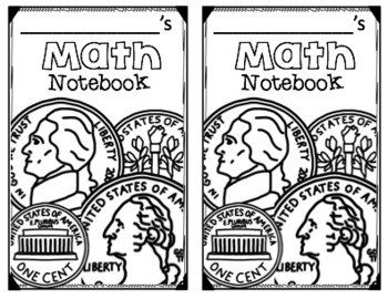 Composition Notebook Covers (Math)