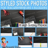 Composition Notebook on Black Styled Stock Photos - Produc