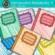 Composition Notebook Clip Art {Back to School Supplies for Writing Resources} 1