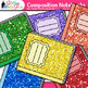 Composition Notebook Clip Art {Back to School Supplies Graphics for Journals} 1