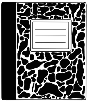 Composition Notebooks Clipart