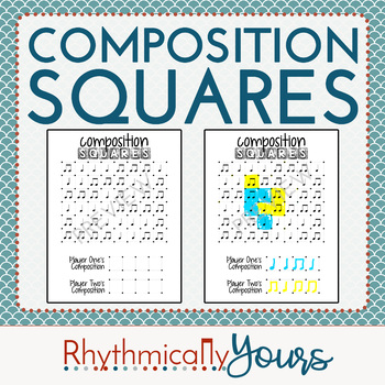 Composition Squares - a musical composition game