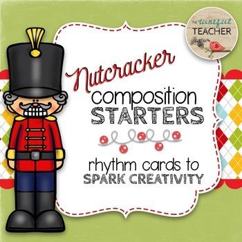 Composition Starter & Rhythm Practice Cards - Nutcracker Theme