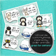 Composition Starter & Rhythm Practice Cards - Polar Animals