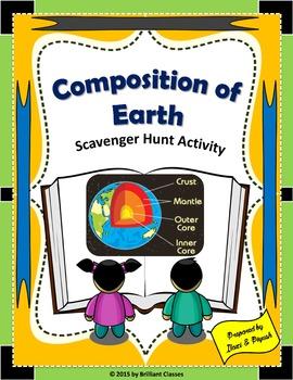 Composition of Earth Scavenger Hunt