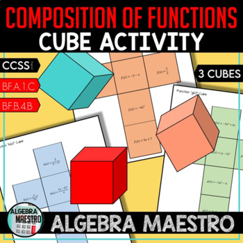 Composition of Functions - Cube Actvitity