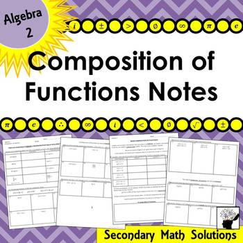 Composition of Functions Notes (2A.2D)