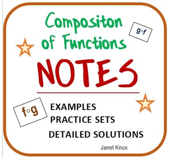 Composition of Functions: Notes, Examples, Practice Problems