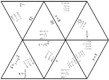 Composition of Functions Puzzle