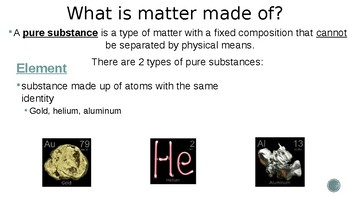 Composition of Matter powerpoint