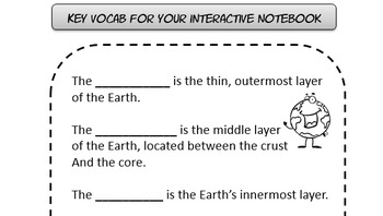 Composition of earth & living things INB QR code 5 6 7 8 TX TEKS 6.5B 7.6A STAAR